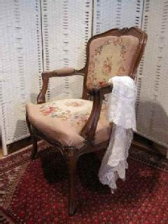 1930French PetitPoint arm chair