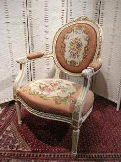 1930PetitPoint arm chair