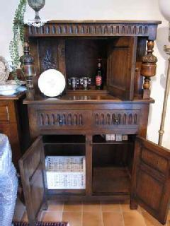 1920British court cupboard