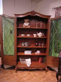 1930French stained book case